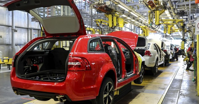 The Latest: Last car built in Australia rolls off GM line