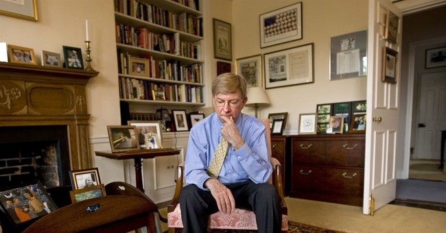 George Will's next book takes long view of conservatism