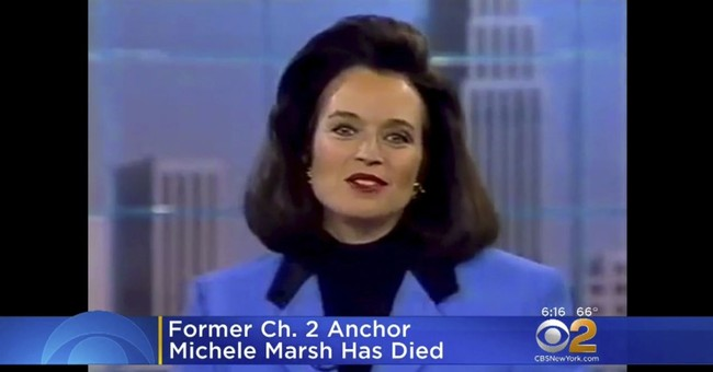 Longtime New York City news anchor Michele Marsh has died