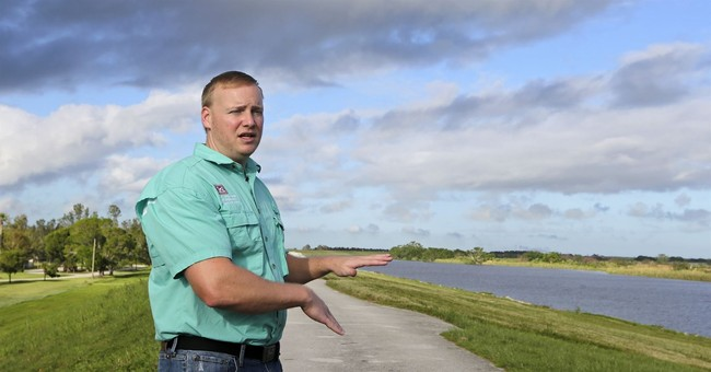 US government: Inspections show Lake Okeechobee's dike sound