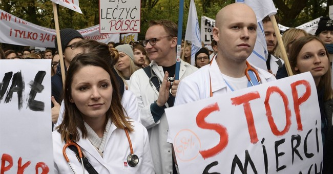 Amid doctors' hunger strike, Poland may boost health budget