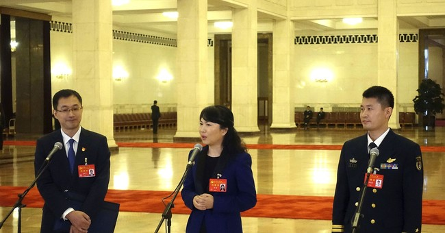 Propaganda in China means heavily scripted news conferences
