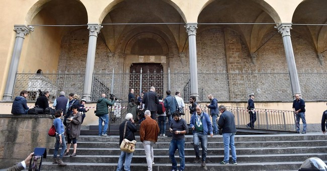 Tourist killed by falling masonry in famous Florence church