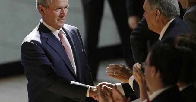Bush condemns Trump-era America: 'Bigotry seems emboldened'