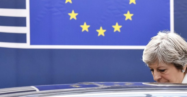 UK's May says Brexit talks making progress; EU denies leak