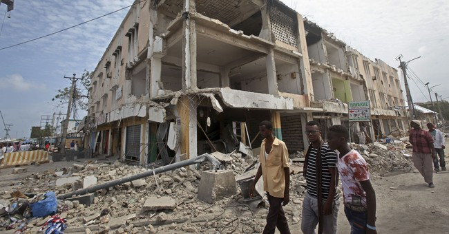 The Latest: Somalia to announce 'state of war' on al-Shabab