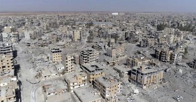 Drone video shows devastation in Raqqa, Syria
