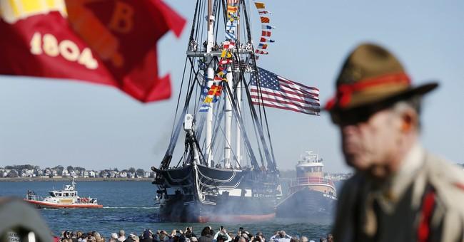 Ahoy! 'Old Ironsides,' world's oldest warship, underway