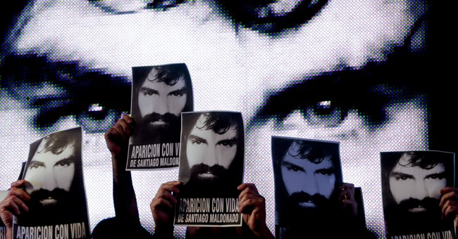 Family believes body is that of missing Argentine protester