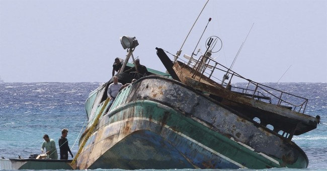 No distress call after fishing boat with foreign crew wrecks