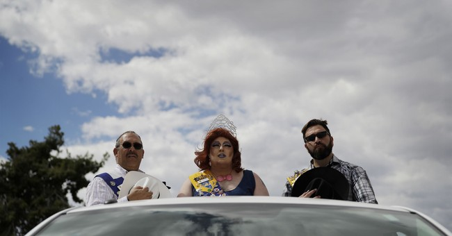 AP PHOTOS: Gay rodeo draws cowboys, drag queens to Las Vegas