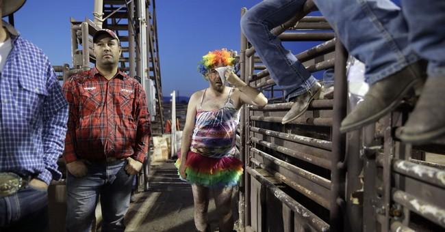 AP PHOTOS: Gay rodeo draws cowboys, drag queens to Las Vegas