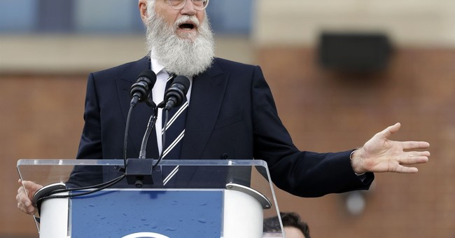 The Latest: Kimmel says Letterman helped nation after 9/11