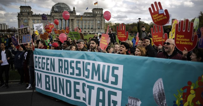Thousands in Berlin protest 'hate and racism' in parliament