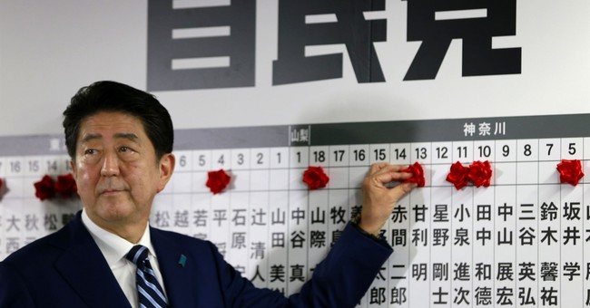 After election win, Abe prioritizes North Korea, aging Japan