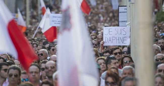Malta's people and media take up slain reporter's message
