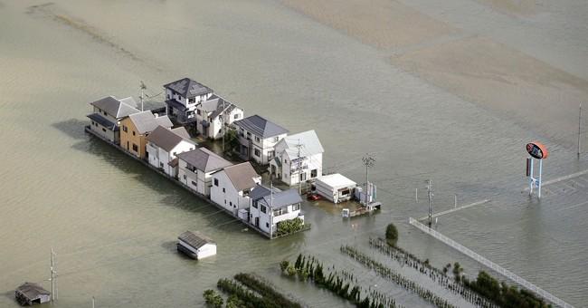 The Latest: Typhoon Lan sweeps across Japan; 2 reported dead