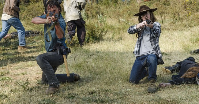 Viewership down for 'Walking Dead' debut
