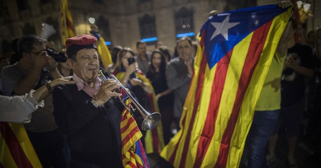 The Latest: Pro-independence students plan Catalonia strike