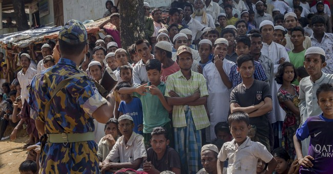 The Latest: US reviewing possible Myanmar ethnic cleansing
