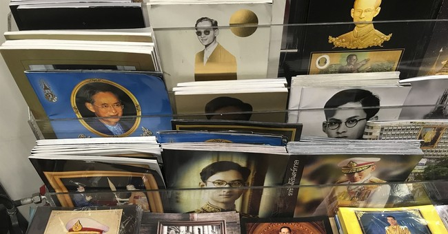 AP PHOTOS: King's image omnipresent in mourning Thailand