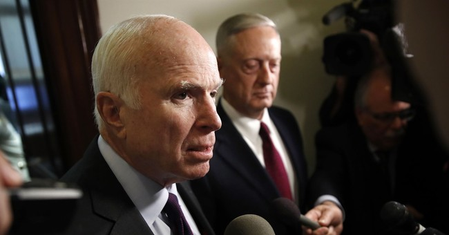 The Latest: McCain doesn't consider Trump a draft dodger