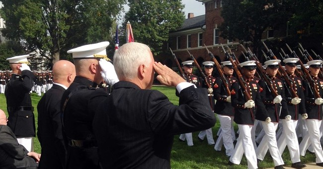 Pence honors memory of Marines killed in 1983 Beirut bombing