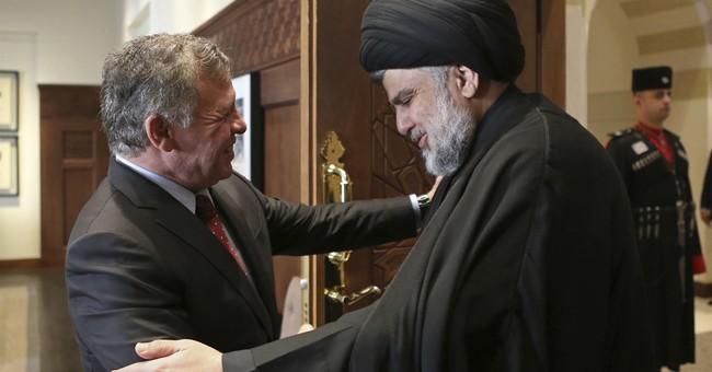 Iraqi Shiite leader meets with Jordan king in rare visit