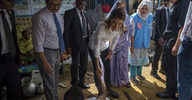 The Latest: UK pledges $15.8 million more for Rohingya
