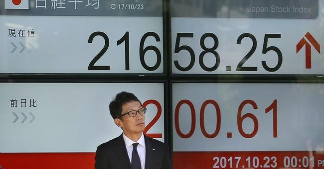 Stocks mostly rise amid Japanese election, US tax hopes
