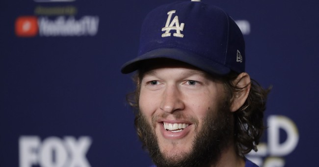 At long last, Dodgers ace Kershaw pitches in World Series