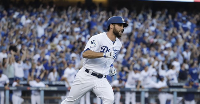 The Latest: Dodgers take Game 1 over Astros 3-1