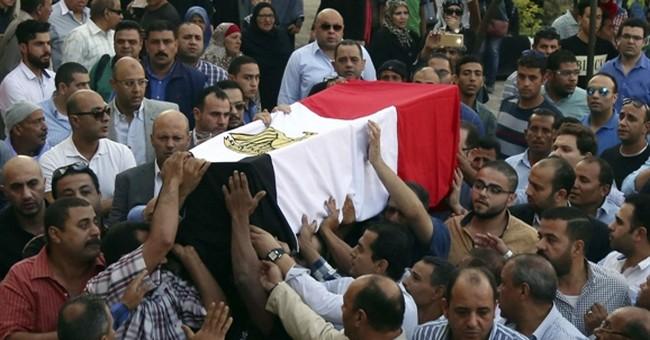 Egypt arrests 12 suspected militants southwest of Cairo