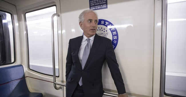 AP FACT CHECK: Trampled truths in Trump-Corker dustup
