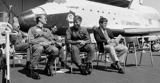 Commander of 1st flight of space shuttle Challenger dies