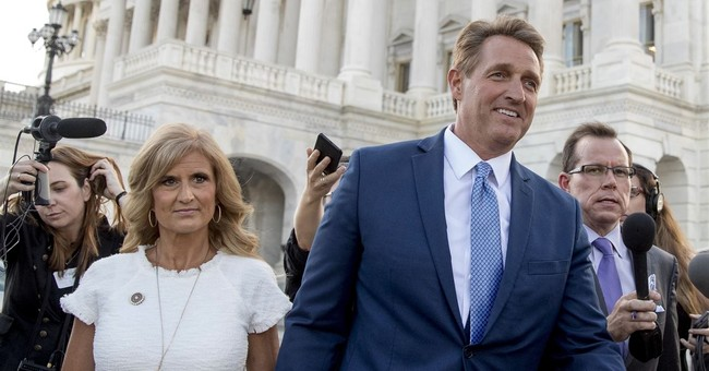 The Latest: Bannon-linked PAC hails Flake announcement