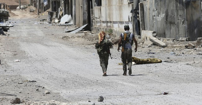 Potential showdown in eastern Syria over IS-held territory
