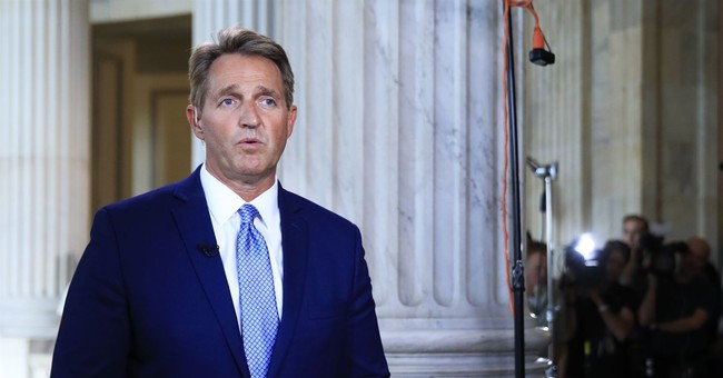 GOP Sen. Flake, a vocal Trump critic, won't seek re-election