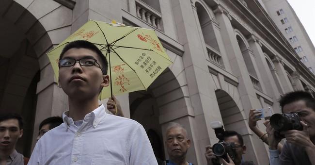 Hong Kong activist Joshua Wong freed on bail pending appeal