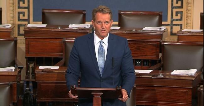 Transcript of Sen. Jeff Flake's speech to the Senate