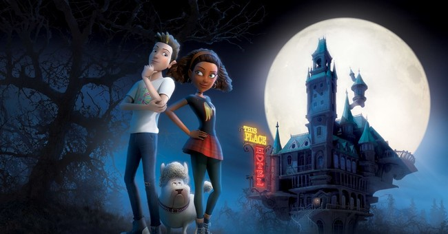 A bright (and animated) Halloween night with Michael Jackson