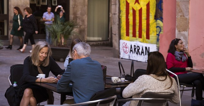 The Latest: VP: Spain 'gives us no option' but to secede