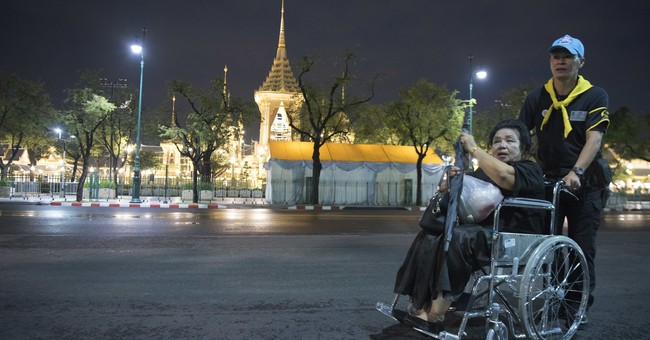 Thailand grieves in elaborate final goodbye to King Bhumibol