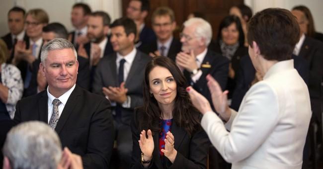 Jacinda Ardern is sworn in as New Zealand prime minister