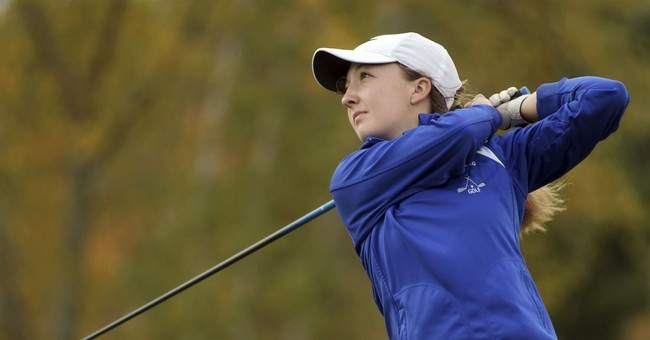 Female student golf player denied trophy in boys' tournament
