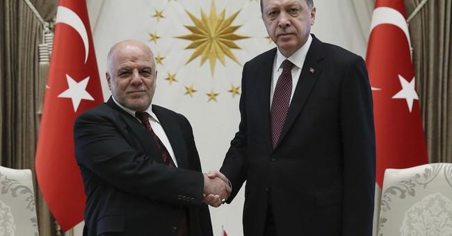 The Latest: Turkey says it will help Iraq restore pipeline