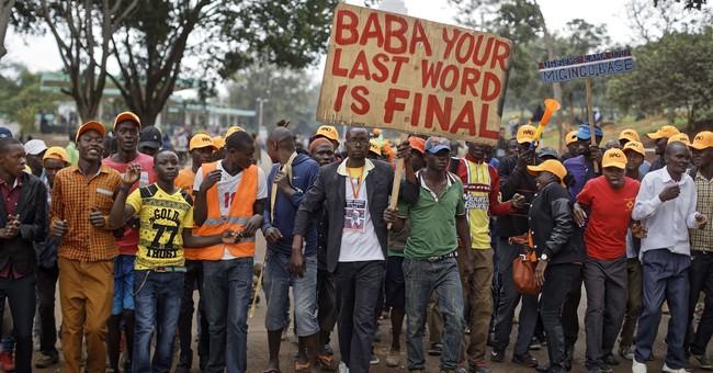 Kenya opposition leader urges boycott on eve of repeat vote