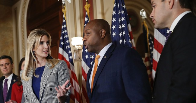 Ivanka Trump promotes child tax credit at Capitol