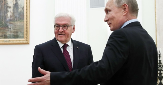 German president in Russia talks about Ukraine, other crises