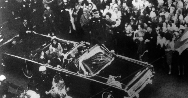 The Latest: JFK file has Hoover talking KGB theory
